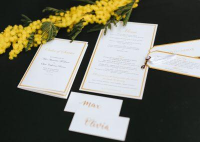 O&M – Hochzeitspapeterie