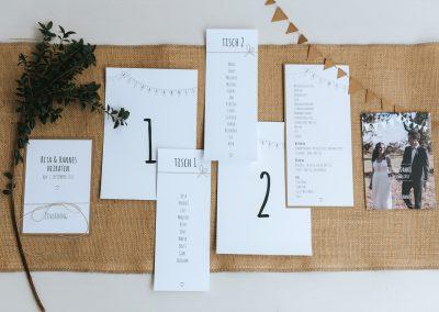 R&H – Hochzeitspapeterie