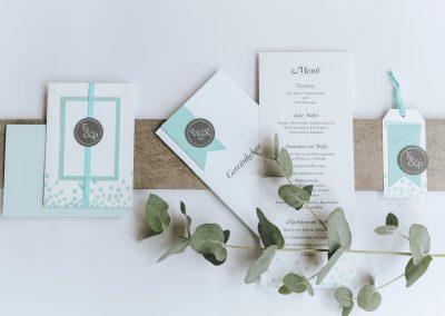 """E&P – Hochzeitspapeterie """"handmade"""""""
